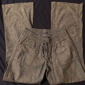 Lucky Brand Chambray Linen Pants